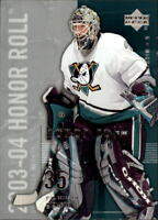 2003-04 Upper Deck Honor Roll Hockey Cards Pick From List