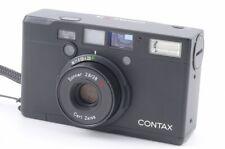 [Excellent] CONTAX Tix Black Sonnar 28mm f2.8 T* APS Film Camera #122627