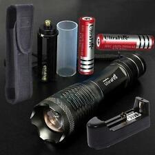 UltraFire LED 3000lm  XML T6 lampe torche+18650 Batterie+Chargeur+Holster DC