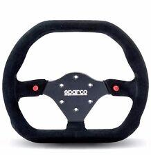 SPARCO STEERING WHEEL COMPETITION P 310 310MM BLACK SUEDE / BLACK SPOKE / FLAT