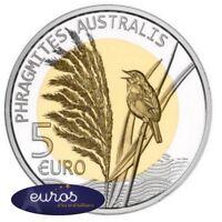 Pièce de 5 euros commémorative LUXEMBOURG 2018 - Le Roseau - Belle Epreuve