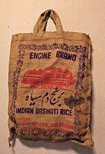 Vintage Engine Brand Basmati Rice bag