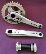 VGC Shimano XT FC-M770 M770 cranks chainset crankset + BB 8/9/10 speed 175mm