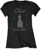 CHER Heart Of Stone WOMENS GIRLIE T-SHIRT OFFICIAL MERCHANDISE