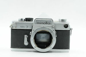 Minolta SR 7 SLR Film Camera Body Chrome #592