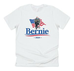 Bernie Sanders 2024 T-shirt Tee Funny Election Meme US President 2020 Vote For