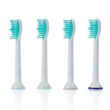 4 x Ersatzbürsten für Philips Sonicare Bürstenkopf Aufsteckbürsten Zahn Bürsten