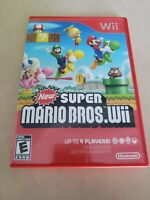 New Super Mario Bros. Wii Game Complete! Nintendo Wii