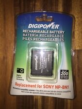 Digipower Rechargeable Battery Replacement For Sony NP-BN1