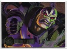 1995 Flair Marvel Annual Powerblast Foil (11) APOCALYPSE