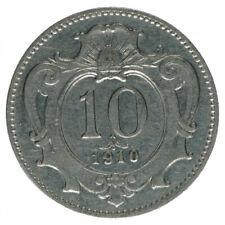 Österreich Habsburg Franz Joseph I. 10 Heller 1910 A37329
