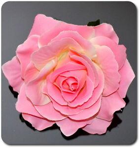 Fiore Capelli Bustino Spilla Rosa Matrimonio Affascinante Molletta Fermacapelli