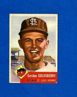 1953 Topps Baseball CARD #200 GORDON GOLDSBERRY EX/EXMT ST. LOUIS BROWNS