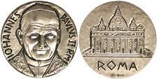 Medaglia Giovanni Paolo II° Basilica San Pietro Argento #MD786