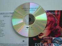 Arielle Dombasle Diva Latina CD ALBUM PROMO pochette papier