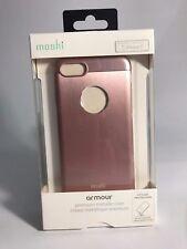 NEW!! Moshi Armour Premium Pink Metallic Case Apple iPhone 8 / 7