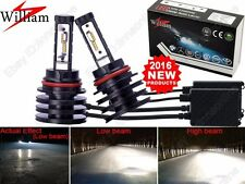 9004 100W 9000LM LED Headlight Hi/Lo Bulb Xenon White 6000K HighPower