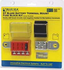 Blue Sea Systems ST-Blade Battery Terminal Mount Fuse Block Kit