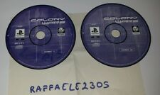 COLONY WARS IN ITALIANO PS1 PS2 PS3 DOPPIO DISCO SOLO CD GIOCO RARO !!!!