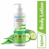 Mamaearth Unisex Hydrating Natural Body Lotion With Cucumber & Aloevera 250 Ml