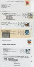 US - Sixteen Commercial/Advertising  Postcards #2 - All Different Stamps