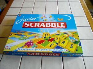 SCRABBLE JUNIOR édition Mattel 2009 2 jeux évolutifs pour grandir avec Scrabble