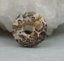 LEOPARDENJASPIS Anhänger Donut 20 mm Edelstein a5