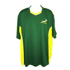 South Africa Rugby Shirt Size 2XL Green Yellow Polo