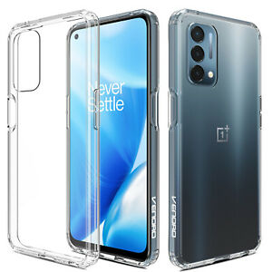 For OnePlus Nord N200 5G Phone Case Crystal Clear Shockproof Slim TPU Hard Cover