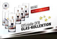 24 Std. Aktion!! Neu! Offizielle DFB Glas-Kolletion (6x) **** WM-Edition