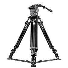 mantona Videostativ Dolomit 4000, 170cm, inkl. Neiger, Schwenkgriff und Tasche