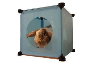 Pet cubes,hide hole for your cat/rabbit,easy wipe clean& assemble, IDEAL GIFT!