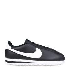Nike Cortez Leather Basic BLACK WHITE OREO OG FORREST GUMP 819719-012 sz 8.5-15