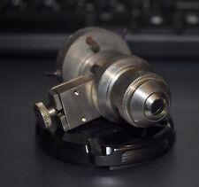 LOMO objective for polarizing microscope 8x 0.20 Pol with two diapragma (Iris an