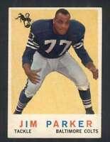 1959 Topps #132 Jim Parker EXMT/EXMT+ RC Rookie Colts 62145
