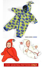RETIRED SEWING PATTERN! MAKE BABY BUNTING! SIZES XS~XL! OUTDOOR CLOTHES!