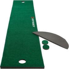 NEW Odyssey Golf Premium Putting Mat 10' x 2' Practice Training