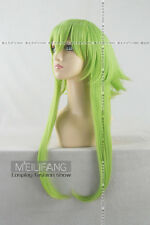 Vocaloid Gumi Cosplay 50Cm Long Green Wig Free Shipping+Wig Cap