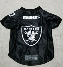 New listing New with tags - Oakland Raiders Pet Jersey Large - Premium Pet Gear - Free Ship