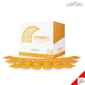 VANAV VITAMIN C Night Cream 4 Days x 6 Pack (24ea)  /Tone-Up [OFFICIAL]