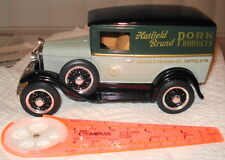 Liberty Classic Ford Model A delivery truck bank - Hatfield Meats