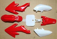 NEW Red Plastic Kit Honda CRF50 XR50 CRF XR 50 SDG SSR Pro Pit Dirt Bikes