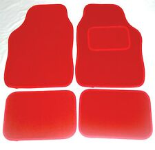 Red Car Mats For Mazda 2 3 Sport 121 323 626