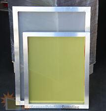 "6 Pack - 18""x20"" Aluminum Frame Printing Screens 110/160/230 Mesh Count Mix Lot"