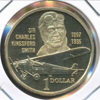 Australia, 1997 One Dollar, $1, Elizabeth II (Kingsford Smith) - Proof