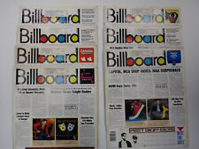 Lot of 7 Billboard Magazines from 1986 Music Magazine Collectable Historic