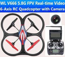 RC Quadcopter Ufo  WL V666 Pro  Kamera Drohne mit FPV Livebild