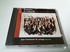 "ORQUESTRA DE CADAQUES SIR NEVILLE MARRINER ""ARRIAGA"" CD 5 TRACKS COMO NUEVO"