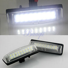 2x Bright Led License Number Plate Light fit for LEXUS IS200 IS300 GS300