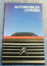 Livre Revue Magazine Automobiles Citroën 1985 Kajo Haapalainen Patrick René